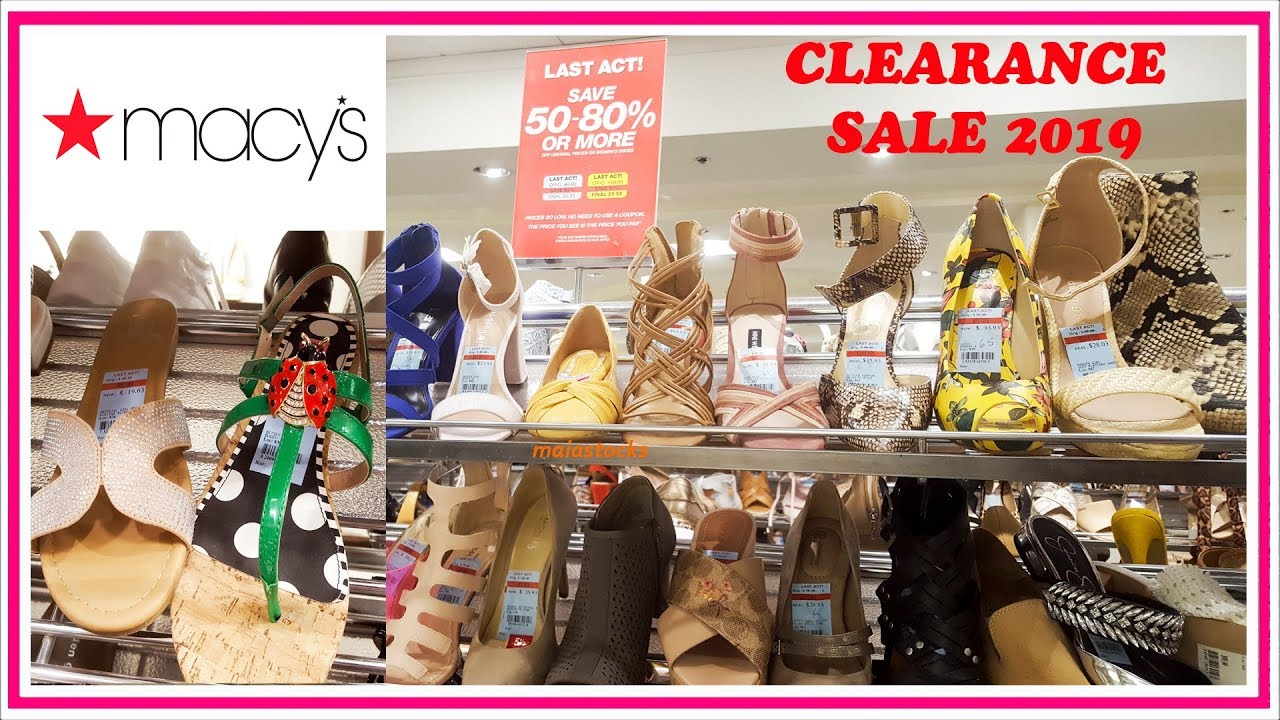 dba0fca95c7 #MACYS SHOES CLEARANCE SALE Shopping 2019 I COACH, KATE SPADE, STEVE  MADDEN, MICHAEL KORS