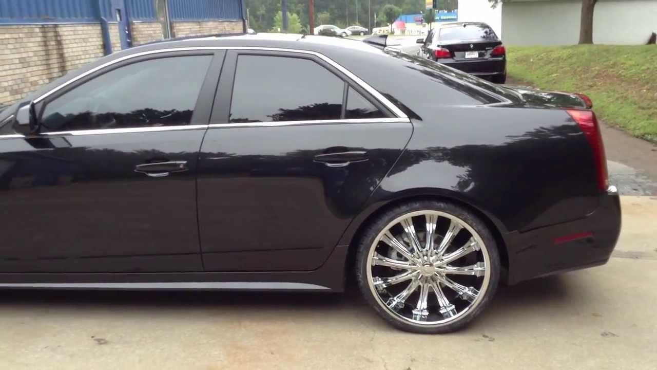 Nice 22 Quot Borghini Wheels On A 2013 Cadillac Cts At Rimtyme