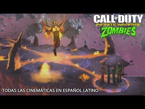 INFINITE WARFARE ZOMBIES | TODAS LAS CINEMÁTICAS EN ESPAÑOL LATINO INTRO, FINAL Y SUPER EASTER EGG