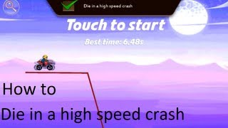 Bike Race: How to die in a high speed crash