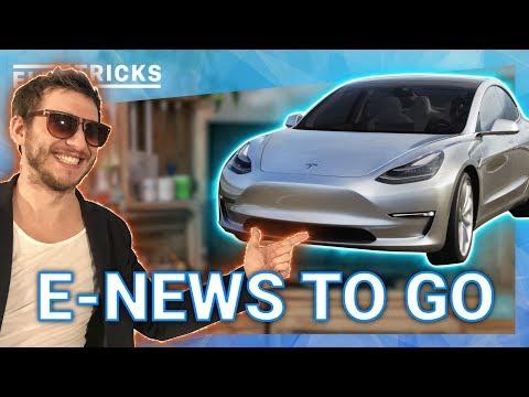 E News TO GO: Tesla Model 3 Bremsen Probleme ❌ + Lösung ✅ & beliebter als BMW, Mercedes oder Lexus