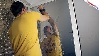 FENSTERFOLIE ANBRINGEN - Hitzeschutz gegen Sonne - #1stVIDEOMARATHON #01