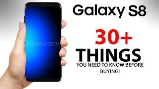 Samsung Galaxy S8 - 30 THINGS You Didn