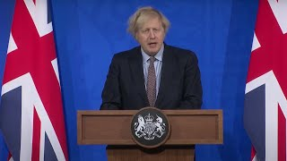 video: Boris Johnson urges public to play sport in the sun to 'build resilience' against coronavirus