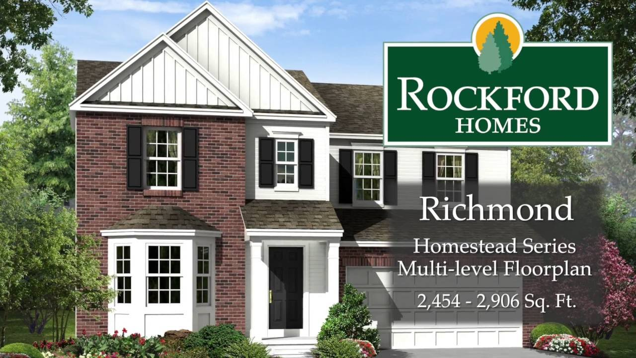 Rockford Homes The Richmond YouTube – Rockford Homes Floor Plans