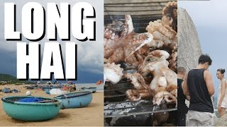 VIETNAM BEACH TIME: Long Hai with Friends, Sea Food and Banh Baos Vlog #49