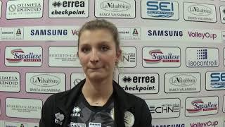 #Pallavolo A1 femminile - Brescia-Novara 3-2: Anna Nicoletti