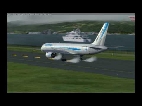 [P3D] Leg 1. Caribbean Tour. Kingston Jamaica to Port Au Prince Haiti in 757