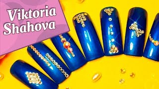 На Заметку! #4 Дизайн ногтей стразами / Note! #4 Rhinestone nail designs
