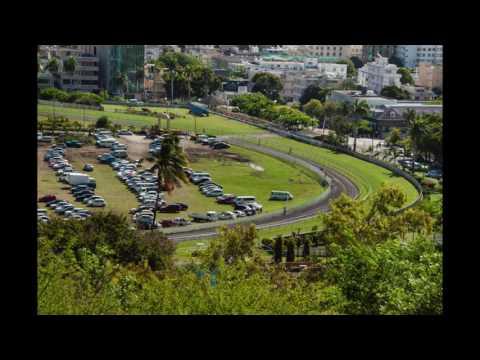 Champs de Mars Port Louis Ile Maurice Mauritius