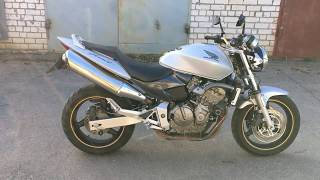 Honda Hornet CB600 Silver overview