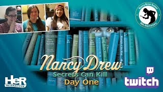 Nancy Drew: Secrets Can Kill Anniversary [Day One: Twitch] | HeR Interactive