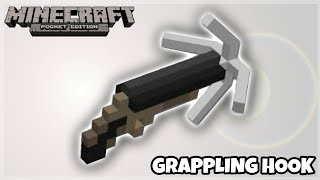 MCPE Tutorials: Working Grappling Hook using Commands