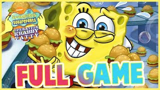 SpongeBob SquarePants: Operation Krabby Patty FULL GAME Longplay (PC)