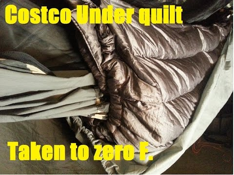 costco under quilt setup able to go to 0f costco under quilt setup able to go to 0f   youtube  rh   youtube
