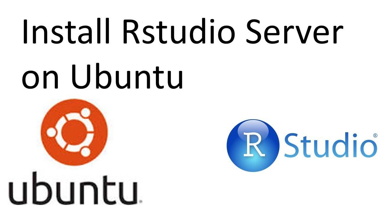 Installing RStudio Server on Ubuntu