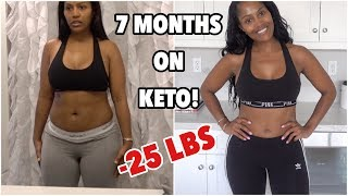 KETO DIET WEIGHT LOSS UPDATE - I'VE LOST 25 POUNDS