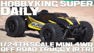 1/24th Scale Mini 4wd Off Road Truggy (Rtr) - Hobbyking Super Daily