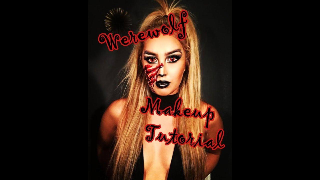 Halloween Makeup Tutorial :: How to do Werewolf Makeup / Werewolf ...