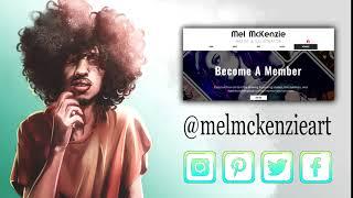 Mel McKenzie Art - Animated Ad