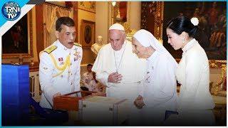 ในหลวง-พระราชินี เสด็จฯ ออกทรงรับ สมเด็จพระสันตะปาปาฟรานซิส