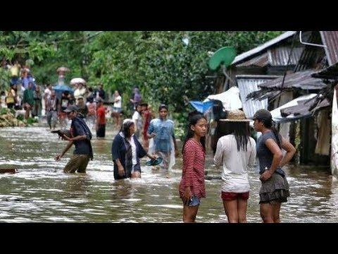 Паводки и оползни на Филиппинах.Что произошло на нашей Планете. Что произошло в мире.