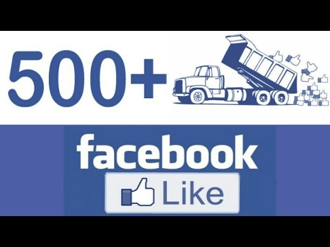 How to get 500 likes on Facebook with in 2 min 2017 (with proof )