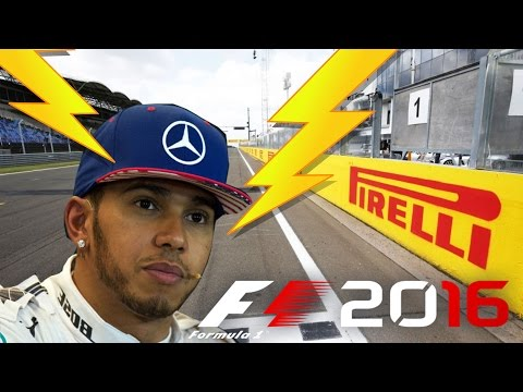 "F1 2016 GP Ungarn  - Chuck ""Lightning"" Hamilton [PS4][deutsch]"