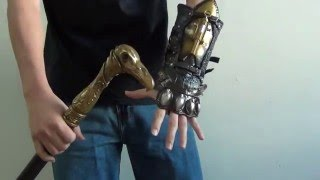 Assassin's Creed Syndicate Gauntlet & Cane Sword Review