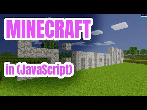 Coding Minecraft In JavaScript