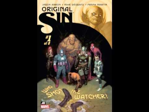 Comic book reviews #1- Marvel original sin review
