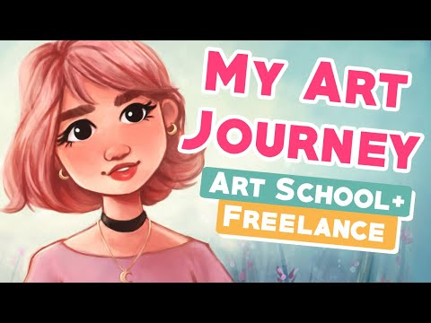 [PART 2] MY ART JOURNEY 💁🏻♀️🎨 | How I Became a Freelance Artist!