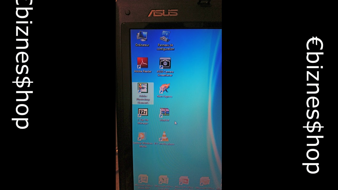 ordinateur pc portable asus f7l 17 pouces youtube