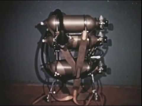 Griffith Pugh on the open circuit oxygen sets used on Everest 1953
