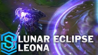 Lunar Eclipse Leona Skin Spotlight League Of Legends Vloggest