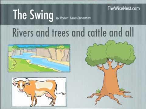 Poetry The Swing By Robert Louis Stevenson