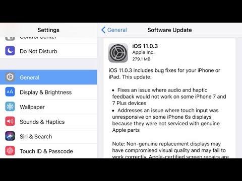 iphone 7 Plus yazılım güncelleme hatası