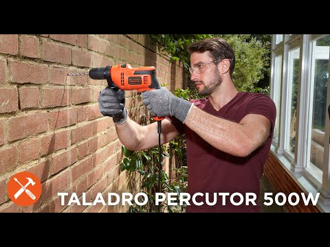 Taladro Percutor 500W I BLACK+DECKER™