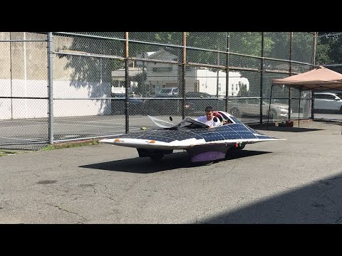 Staten Island students showcase award-winning solar car