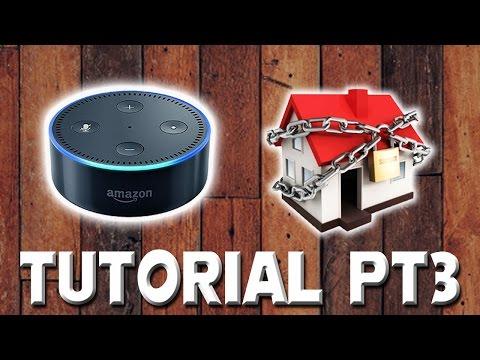 Alexa home alarm - Welcome home