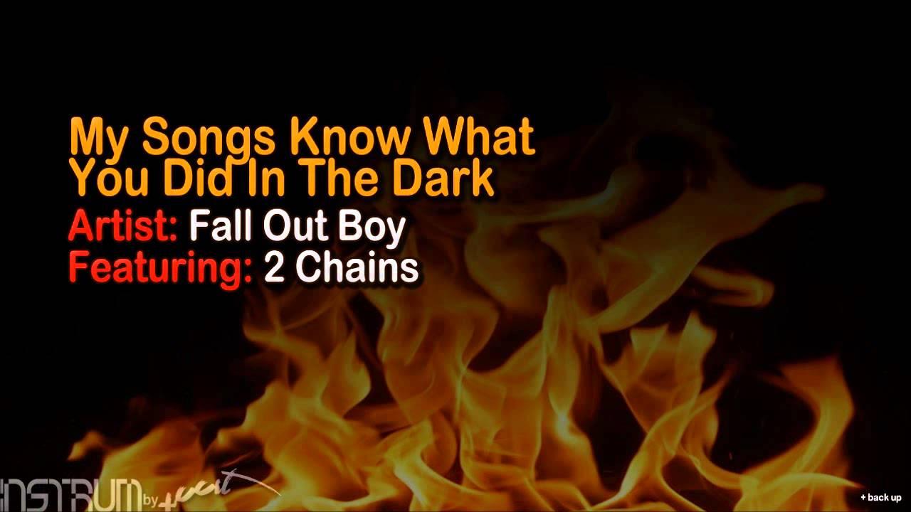 Fall Out Boy Light Em Instrumental