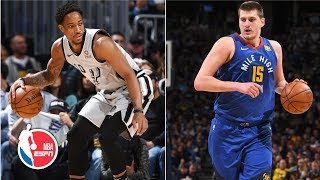 DeMar DeRozan leads Spurs in points, assists and rebounds in Game 1 vs. Nuggets | NBA on ESPN