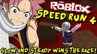 SLOW AND STEADY GAGNE LA COURSE! ;-; Roblox: Speed Run 4