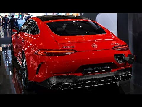 2022 Mercedes-AMG GT 63 S E PERFORMANCE – Interior and Exterior Details