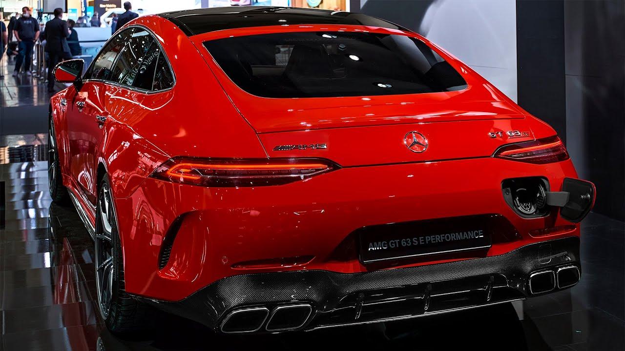 مرسيدس اي ام جي جي تي 63 الجديده 2022 Mercedes-AMG GT 63 S