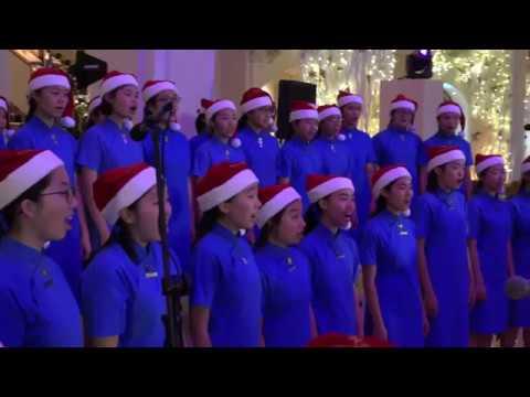 23 December 2017  Heep Yunn School Choir Sing at The Peninsula Hong Kong