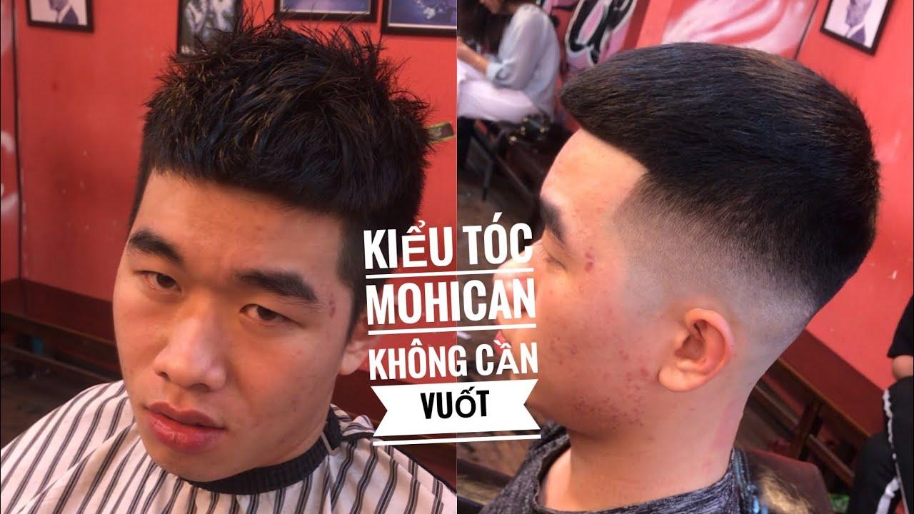 Tóc nam đẹp 2020 – Kiểu tóc Mohican ngắn không cần vuốt vẫn cứ Đẹp Trai   Bao quát những thông tin liên quan đến tóc nam vuốt đẹp đầy đủ