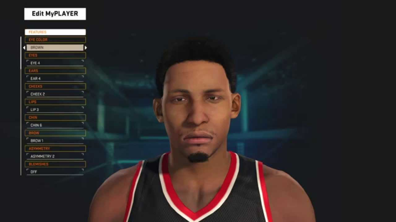 how to make your myplayer look like jeff teague on nba 2k15 youtube