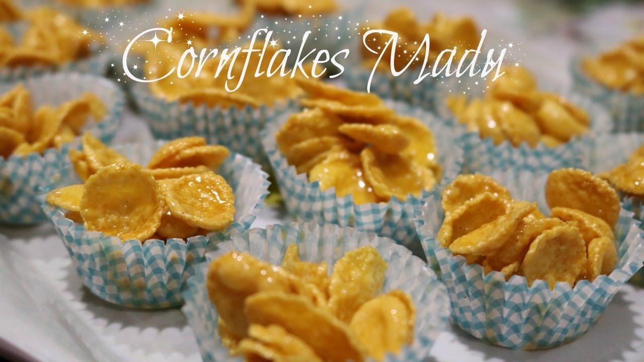 resepi cornflakes madu rangup mudah surasmi Resepi Biskut Mazola Chef Hanieliza Enak dan Mudah