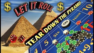 Craps Strategy - Tear Down the Pyramid- Great strategy to try to win at craps!